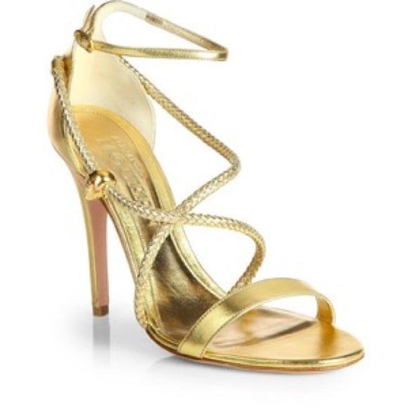 209dd51959 Alexander McQueen Shoes   Woven Strappy Skull Sandal   Poshmark